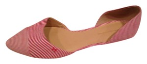 Tommy Hilfiger Red with White stripe Flats