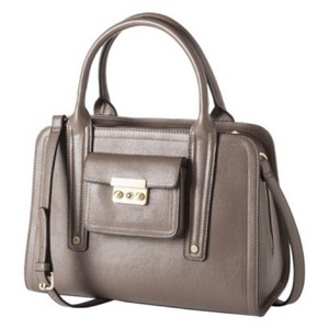 3.1 Phillip Lim for Target Faux Leather Crossbody Handbag Satchel in Taupe