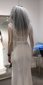 Saks Fifth Avenue Fingertip One Layer Veil With Raw Edge - Never Worn
