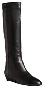 Loeffler Randall Wedge Black Boots