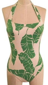 Rachel Pally Palm Print Retro Swimsuit