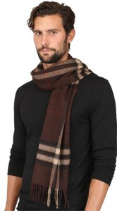 Burberry Burberry Giant Check Pattern Cashmere Scarf