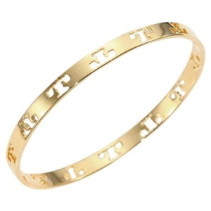Tory Burch logo bangle