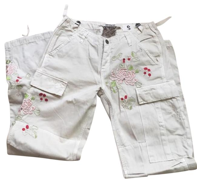 Item - Beige Style Cargo Jeans Size 28 (4, S)