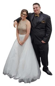 David's Bridal Prom Princess Full Length Dress