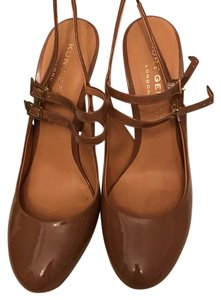 Kurt Geiger London Camel Pumps