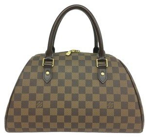 Louis Vuitton Lv Mm Ribera Damier Ebene Tote in brown