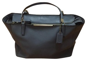 Coach Tote in Pewter Blue