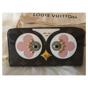 Louis Vuitton Louis Vuitton Limited Edition Love birds/ Owl Collection Zippy Wallet