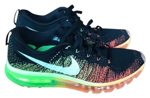 Nike Flynit Airmax Limited Edition Black and Neons Athletic