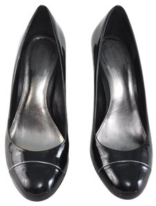 Ann Taylor Patent Leather Black Pumps
