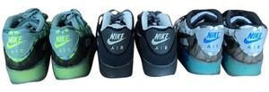 Nike Airmax 90's blue ice, lime green ice, navy Athletic