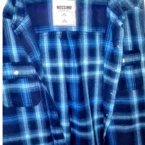 Mossimo Supply Co. Button Down Shirt Navy blue