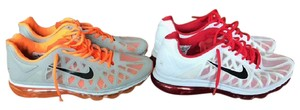 Nike Airmax Red and Orange Athletic
