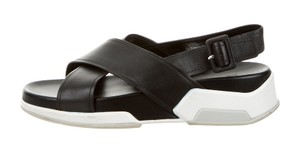 Prada Black / White Sandals