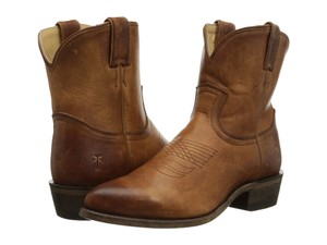 Frye 77815 Cowgirl Billy Short Women Sale Clearance Brown Boots
