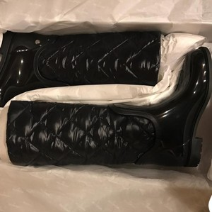 Moncler Lates Two Part black Boots