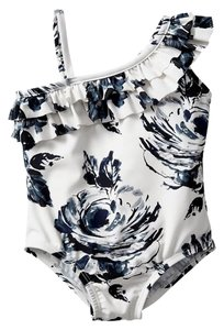BabyGap Asymmetrical Floral One-piece in Hula Floral Print size Toddler 5yrs