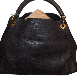 Louis Vuitton Python Artsy Shoulder Bag
