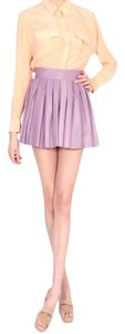 Alice + Olivia Mini Skirt Light Purple / Lilac
