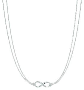 Tiffany & Co. T&Co Infinity necklace.