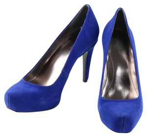 Calvin Klein Royal Blue Platforms