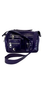 Marc Jacobs Purple Leather Cross Body Bag
