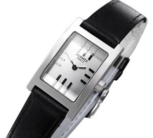Hermès Hermes Ladies Tandem Rectangular Watch - Stainless Steel