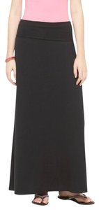 Mossimo Supply Co. Maxi Skirt Black