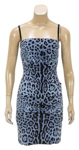 Dolce&Gabbana short dress Blue/Black on Tradesy