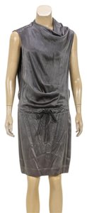 Brunello Cucinelli short dress Gray on Tradesy