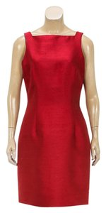 Oscar de la Renta short dress Red on Tradesy