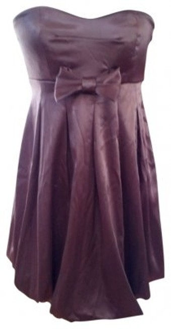 Preload https://item5.tradesy.com/images/ruby-rox-brown-party-a-bow-above-knee-night-out-dress-size-8-m-20589-0-0.jpg?width=400&height=650