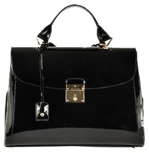 Marc Jacobs New Made In Italy Handbag Designer Satchel in Black