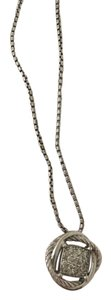 David Yurman David Yurman Infinity Pendant with Diamonds