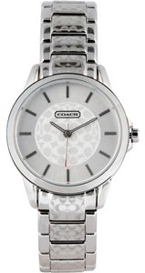 Coach Coach Classic Signature Silver Stainless Womens Watch 14501609