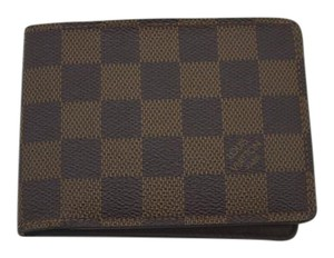 Louis Vuitton Louis Vuitton Damier Portefeuille Multiple Bifold Mens Wallet