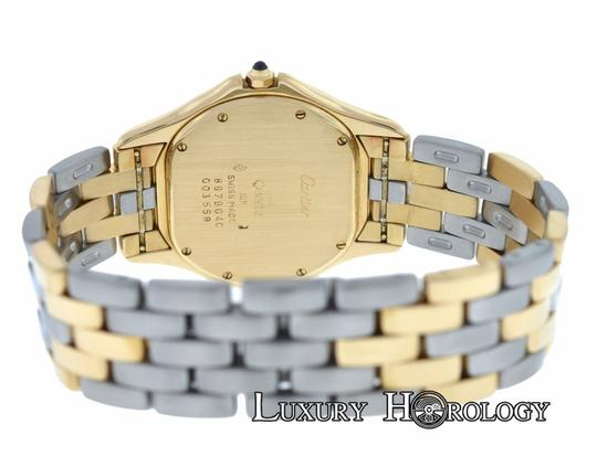 Cartier Cartier Cougar Panthere 887904C Midsize 33mm Quartz 18K Gold Watch
