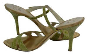 FRANCO FIERAMOSCA lime Sandals
