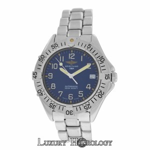Breitling Breitling Colt A17035 Automatic Diver 300M Steel Date 38mm