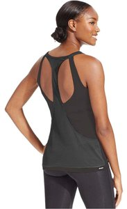 adidas Adidas Women's T-Back Breakout Tank Top, Black/Dark Grey, S