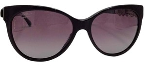 Chanel Cat Eye Burgundy Bijou Chanel Sunglasses 5336-H-B c.1461/K5 57