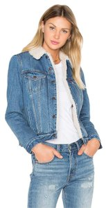 Levi's Levi Sherpa Movin' and Shakin' Womens Jean Jacket