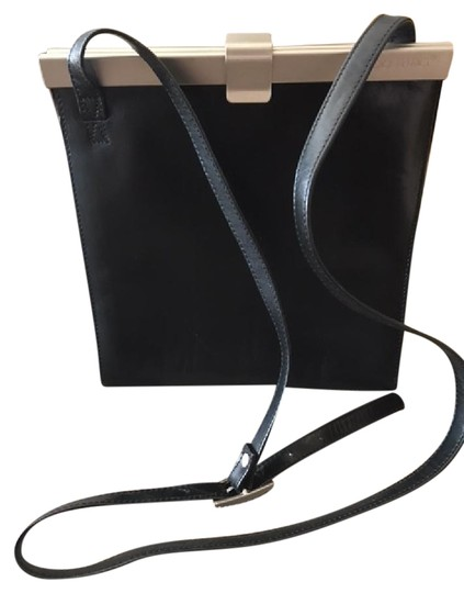 Preload https://item4.tradesy.com/images/claudio-ferrici-black-leatherbrushed-metal-cross-body-bag-20590133-0-2.jpg?width=440&height=440