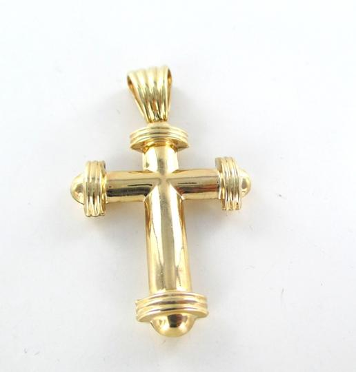 Other 14K YELLOW GOLD PENDANT CROSS FINE JEWELRY EASTER FINE JEWELRY BOUTIQUE FAITH