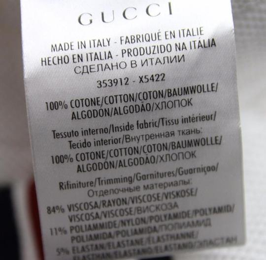 Gucci White New Mens Sweat Jogging Blue/Red Web Detail 353912 9038 Xxl Groomsman Gift Image 6