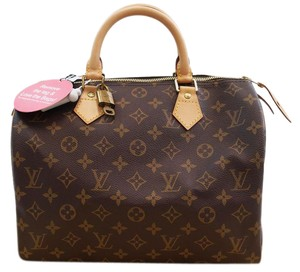 Louis Vuitton Lv Speedy 30 Monogram Handbag Hobo Bag