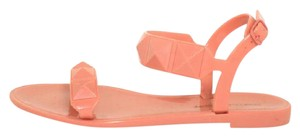 Rebecca Minkoff Strappy Studded Coral Sandals