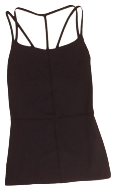 Item - Black Strappy Activewear Top Size 4 (S, 27)