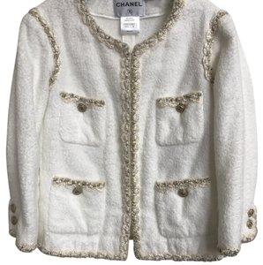 Chanel White Jacket